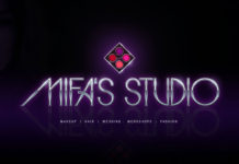 MIFA - makeup - make-up - makeover beauty fashion workshops LOGO